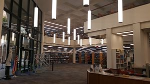 Jane Bancroft Cook Library - Image: JBC Interior 1