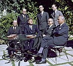 JFK - Meeting with Arturo Frondizi, President of Argentina, in Palm Beach 01 (cropped).jpg