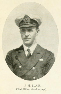 Scottish mariner and naval officer