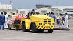 JMSDF 3t class aircraft towing tractor(Toyota L&F 3TG35) right front view at Kanoya Air Base April 30, 2017 02.jpg