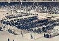 JO de 1912 à Stockholm, les délégations devant la loge royale.jpg
