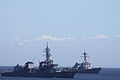 JS Ikazuchi and USS Mustin anchored off Yokosuka, -5 Aug. 2010 a.jpg