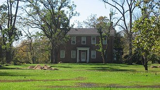 Sheffield, Ohio - The old Burrell house
