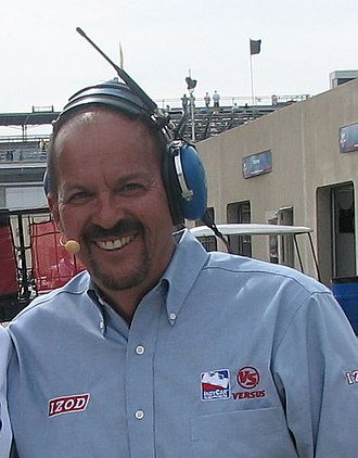 Jack Arute - Jack Arute at the Indianapolis Motor Speedway in May 2009.