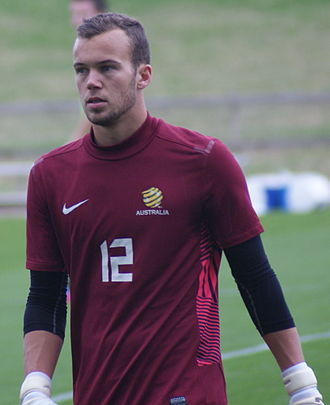 Jack Duncan (footballer) - Duncan playing for the Australian national U-20 team in 2013