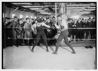 Professional boxing - Jack Dempsey in the ring
