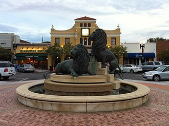 San Marco (Jacksonville) - Lion statues in San Marco Square