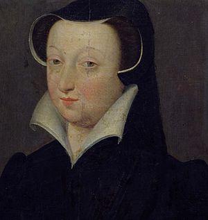 Jacqueline de Rohan, Marquise de Rothelin - Portrait by François Clouet