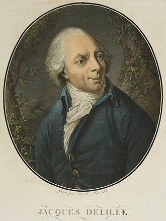 Jacques Delille - Jacques Delille, (Musée de la Révolution française).