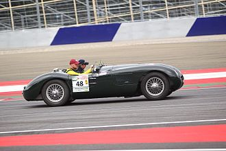 Jaguar C-Type - Image: Jaguar C Type XKC