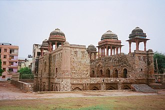 Jahaz Mahal - Jahaz Mahal on the bank of Hauz-i-Shamsi