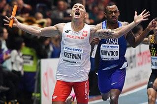 Jakub Krzewina Polish sprinter
