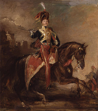 11th Hussars - The Earl of Cardigan, by Francis Grant, ca 1841