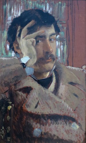 James Tissot - 1885 self portrait