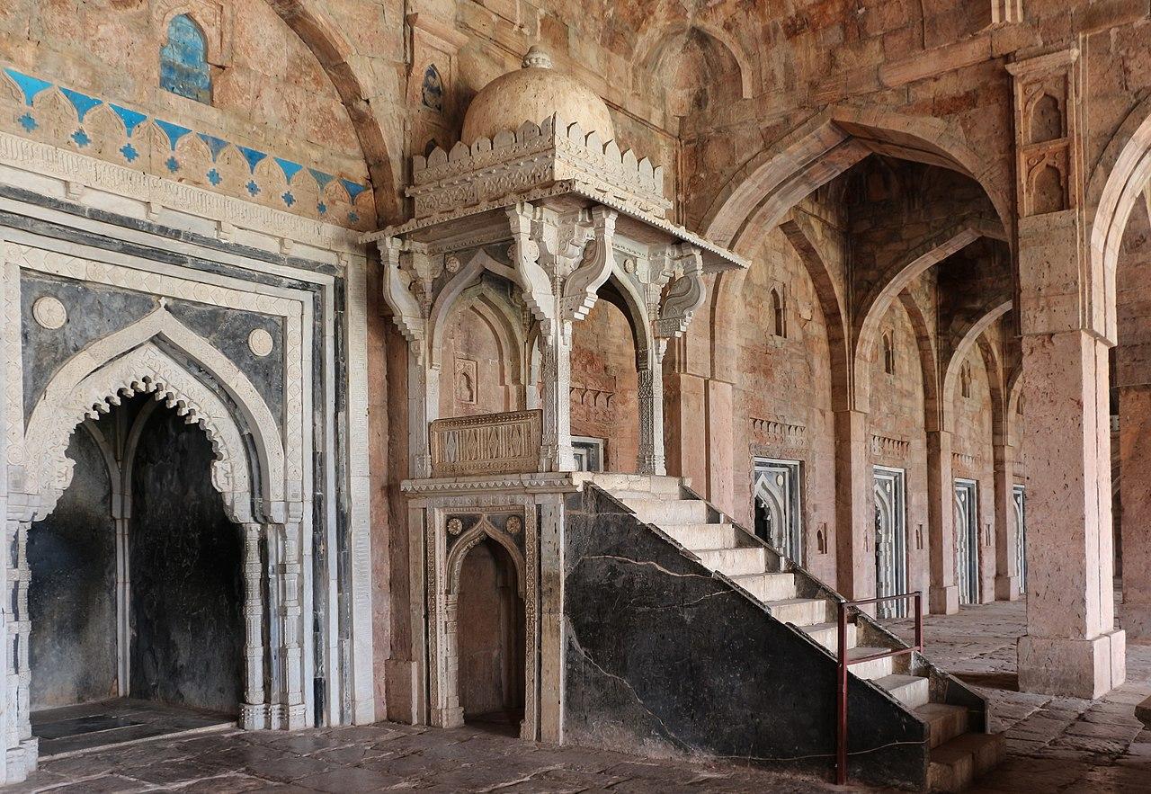 File Jami Masjid Mandu Minbar 01 Jpg Wikimedia Commons