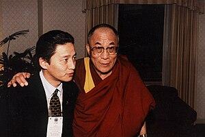 Jamling Tenzing Norgay - Jamling Tenzing Norgay with Dalai Lama