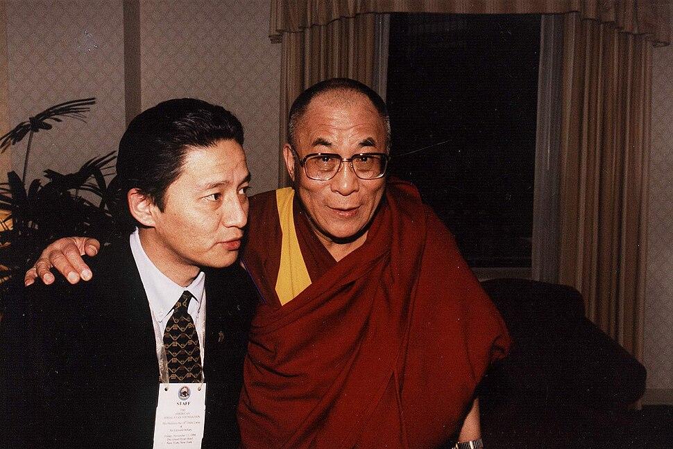 Jamling with HH Dalai Lama