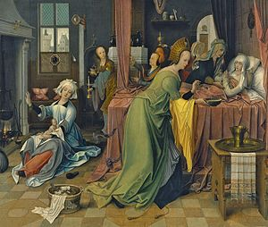 Jan de Beer (painter) - Birth of the Virgin
