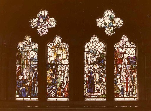 Janet Galloway Memorial Window, Bute Hall, University of Glasgow