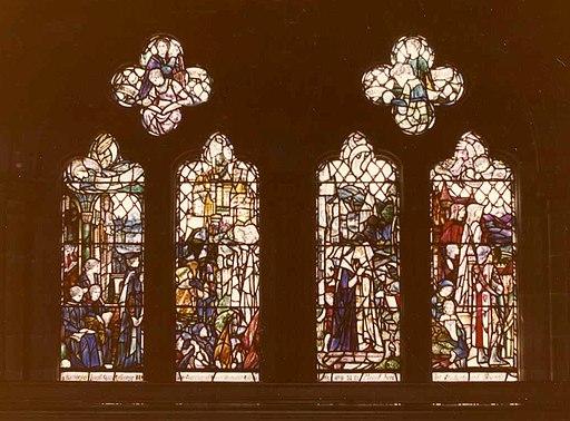 Janet Galloway Memorial Window, Bute Hall, University of Glasgow
