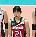 Japan Volleyball team inc Kotoe Inoue (cropped).jpg