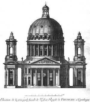 Frederik's Church - Image: Jardin elevation