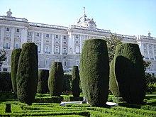 Palacio real de madrid wikipedia la enciclopedia libre for Jardines 29 madrid