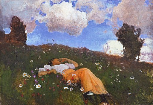 Jarnefelt Saimi in the Meadow