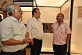 Jayanta Sengupta Visits With Shrikant Pathak And Manash Bagchi - Objects In CRTL Archive Exhibition - NCSM - Kolkata 2018-05-18 0723.JPG