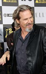 Photo o Jeff Bridges attendin the 2013 San-Diego Comic Con Internaitional.