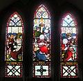 Jeffreyston church - Faith, Hope and Charity window - geograph.org.uk - 1404146.jpg