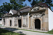 Jelenia Góra Cmentarz wokół Kościoła Łaski (18).JPG