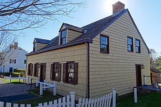 East Jersey Olde Towne Village - Image: Jeremiah Dunn House, east view, EJOTV