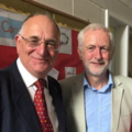 Jeremy Corbyn with David Hallam, in Shropshire, July 2017.png