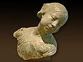 Jeune fille à la tête penchée de Jean Carriès (musée du Petit Palais).jpg