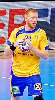 Jim Gottfridsson Swedish handball player