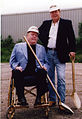 Jimmy Flynt and Larry Flynt with Golden Shovels.jpg
