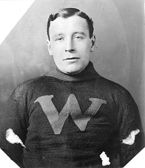 Jimmy Gardner (ice hockey) - Gardner in 1912 with the New Westminster Royals.