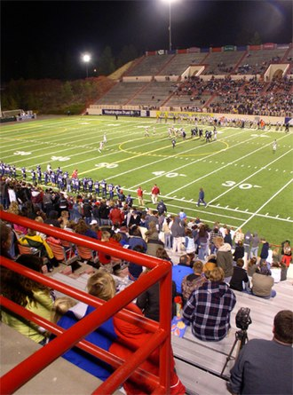 Joe Albi Stadium - New FieldTurf in October 2006