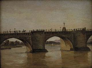 The Augustus Bridge in Dresden