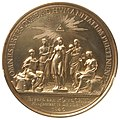 Johann Georg Holtzhey, Competition medal of Teylers Second Society in Haarlem, 1846..jpg
