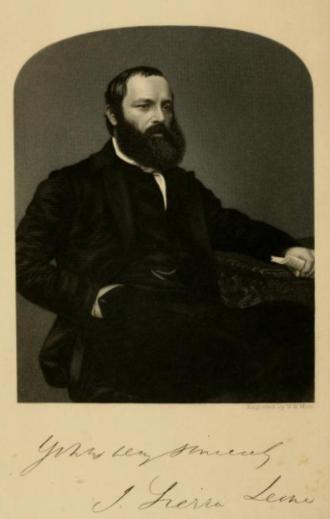 John Bowen (bishop) - John Bowen, Frontispiece from The Memorials of John Bowen (1862)