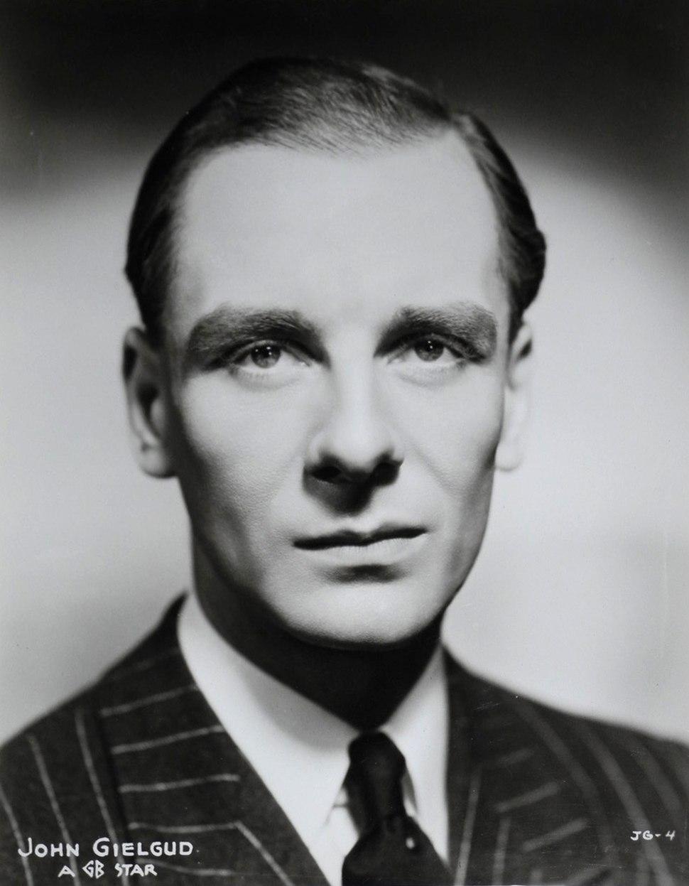 John Gielgud in Secret Agent (1936)