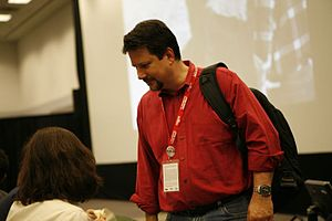 John Knoll - John Knoll visits the 5-25-77 panel, 2007