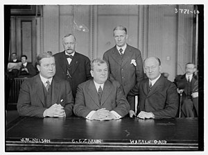 Charles Creighton Carlin - Charles Creighton Carlin on the House Committee on the Judiciary in 1916
