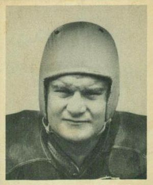 John Mastrangelo - Mastrangelo on a 1948 Bowman football card