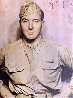 John Payne (actor) - John Payne in uniform (1943)