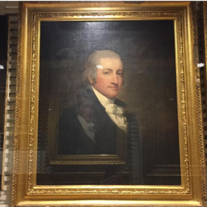 Charles Carnan Ridgely - John Tayloe III of Mount Airy and The Octagon House by Gilbert Stuart on display at the Metropolitan Museum of Art