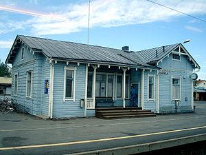 Jokela railway station - Image: Jokela Railway Station