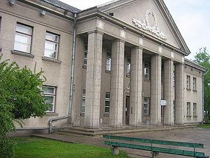 Jonava - Image: Jonava library
